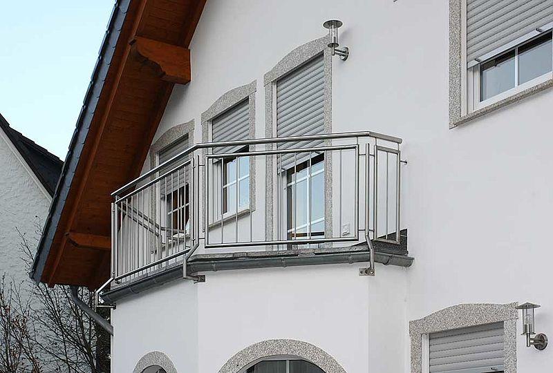 balkongel nder im sauerland aus edelstahl stahl und glas. Black Bedroom Furniture Sets. Home Design Ideas