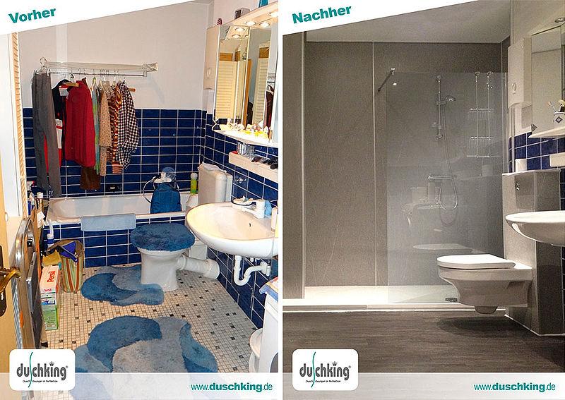 perfekte duschsanierung in nur 2 tagen bad und sanit r. Black Bedroom Furniture Sets. Home Design Ideas