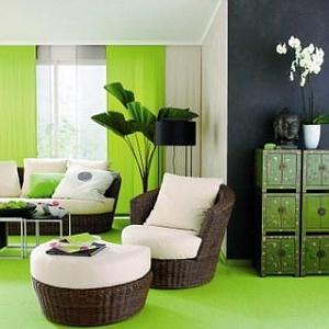 farbe bekennen im wohnzimmer einrichten wohnen. Black Bedroom Furniture Sets. Home Design Ideas
