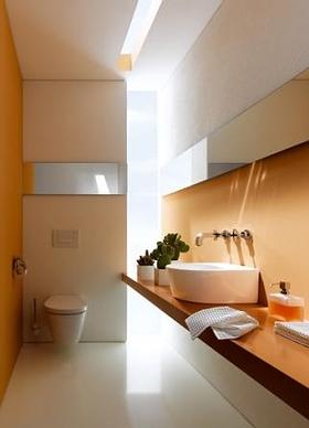 das g ste wc. Black Bedroom Furniture Sets. Home Design Ideas