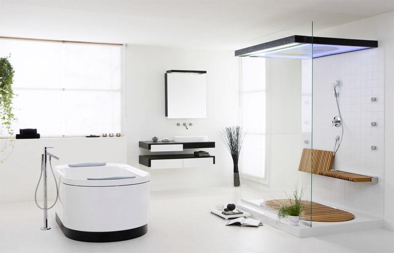 Badezimmer werden zu Wohn- und Wellnesszimmer - Bad und Sanitär