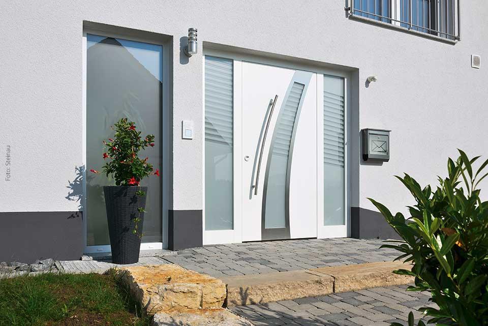 Graue Haustür aluminium haustüren im sauerland bauen renovieren