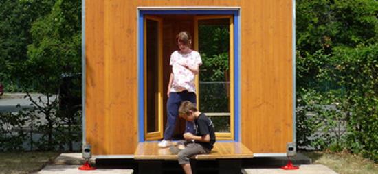 Holzhaus togo bauen renovieren for Mini wohncontainer