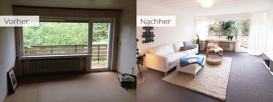 Home Staging im Sauerland - Immobilien