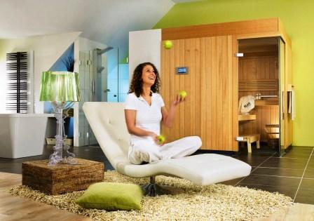 bei bers uerung in die sauna gehen bad und sanit r. Black Bedroom Furniture Sets. Home Design Ideas