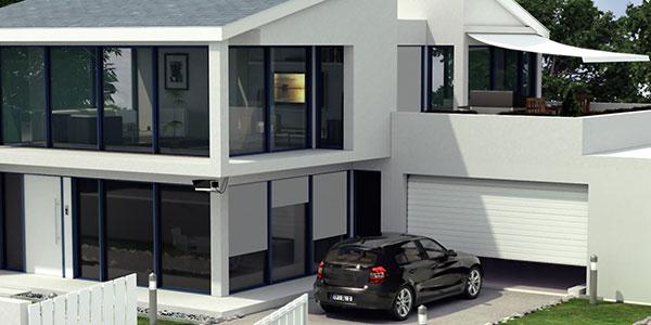 Komfortabel in die garage aber sicher bauen renovieren for Haus mit garage