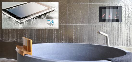 Baden und Fernsehen gleichzeitig - Bad und Sanitär